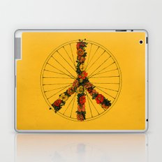 Peace & Bike (Colors) Laptop & iPad Skin