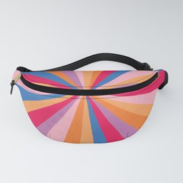 Even the darkest night will end and the sun will rise Fanny Pack
