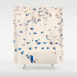 Bondi Brellas Shower Curtain