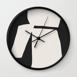 Wing My Back Wall Clock