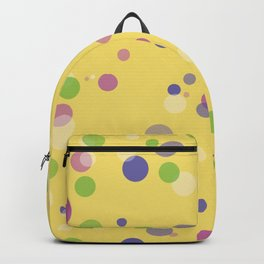 Fantasy Bubbles on Yellow  Backpack