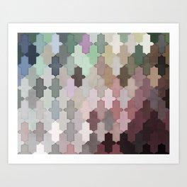 Toned Down Art Print