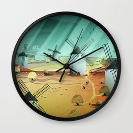 Glorious Days Wall Clock