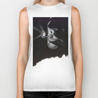 lou reed Biker Tanks featuring Lou Reed Is Dead by Tom Christophersen Creates