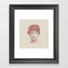 Pattern Recognition Framed Art Print