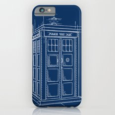Plan Tardis iPhone 6s Slim Case