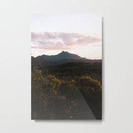 Mt Exmouth Sunset Metal Print