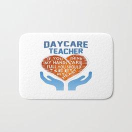 Daycare Teacher Bath Mat