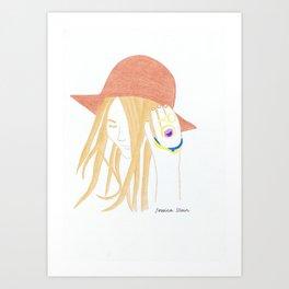 Jessica Stein Art Print