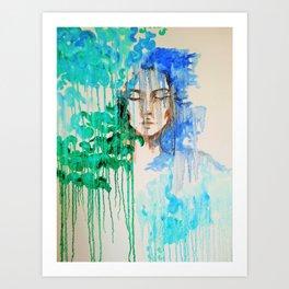 Drippin Art Print