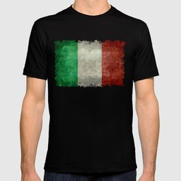 Flag of Italy, Vintage Retro Style T-shirt