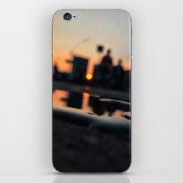 Sun in the city iPhone Skin