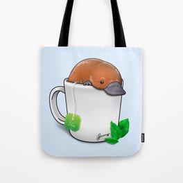 Pla-TEA-pus Tote Bag