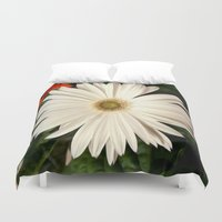 daisy Duvet Covers featuring Daisy by infloence