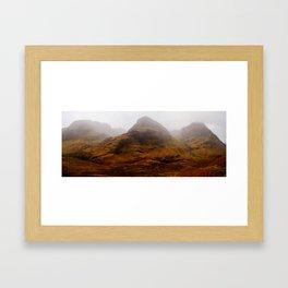 the great glen Framed Art Print