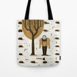 The Woodsman Tote Bag