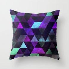dyrk tyme Throw Pillow
