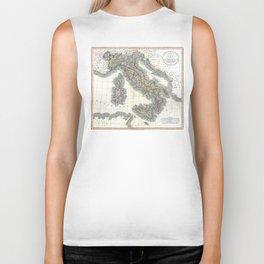 Italy map - John Cary - 1799 Biker Tank