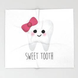 Sweet Tooth Throw Blanket
