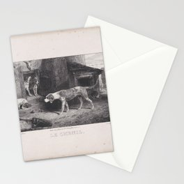 The Kennel, from the series Hunting Scenes,1829 Stationery Cards