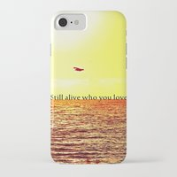 bon iver iPhone & iPod Cases featuring PERTH- BON IVER by Michelle Pitiris