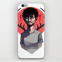will graham iPhone & iPod Skins featuring Will Graham by nucleir
