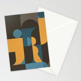 Information & Statement Geometric Stationery Cards