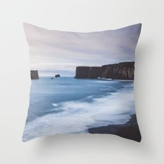 Dyrhólaey Throw Pillow
