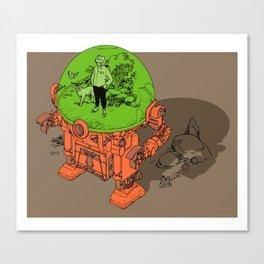 Environment Suit Canvas Print