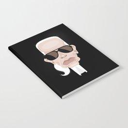 Karl Lagarfeld Notebook