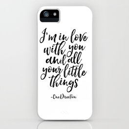 Love Sign,Gift For Her,Gift For Him,Love Quote,Quote,Typography art,Love Sign,Romantic iPhone Case