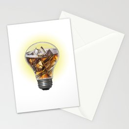 A Turn On Bulb Stationery Cards