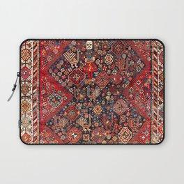 Qashqa'i Fars Southwest Persian Nomad Rug Print Laptop Sleeve