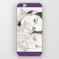 miley iPhone & iPod Skins featuring miley vs. miley by als3