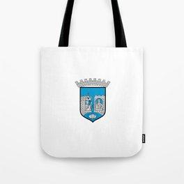 flag of trondheim Tote Bag