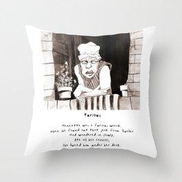 Furious Limerick Throw Pillow