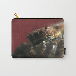 Spider on Red Carry-All Pouch