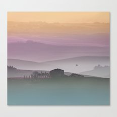 Tuscan Sunrise Canvas Print
