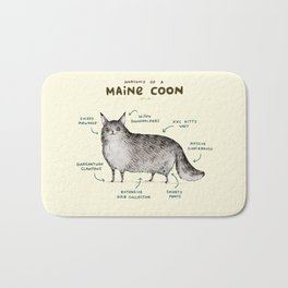 Anatomy of a Maine Coon Bath Mat