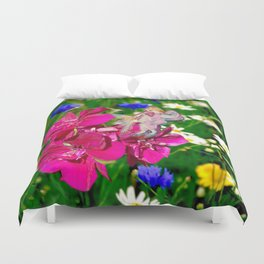 Embraced by Life Duvet Cover