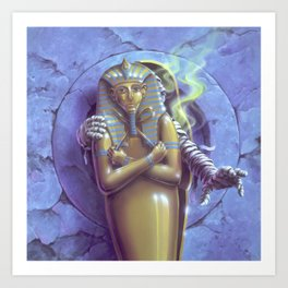 Return of the Mummy Art Print