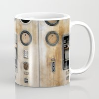 finding nemo Mugs featuring Captain Nemo by inogitna (Antigoni Chryssanthopoulou)