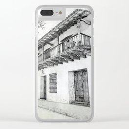 Balcon Ustariz Clear iPhone Case