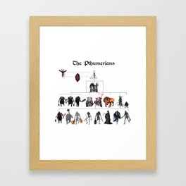 The Pthumerians Framed Art Print