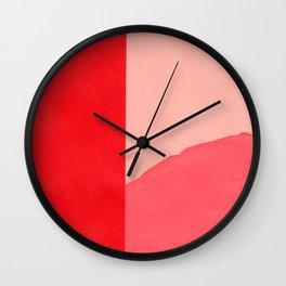 Colores V Wall Clock