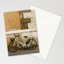 Tuscany bicycles. Lucca serie - fine art travel photography Stationery Cards