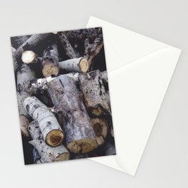 Another Log on the Pile Stationery Cards