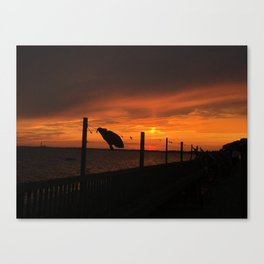 Cape Cod Sunset Canvas Print