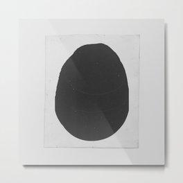 Ink Blob Metal Print