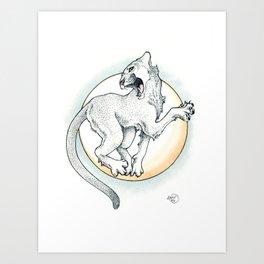 Enrosque Art Print